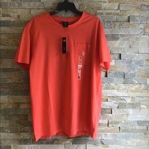 U.S. Polo Assn. Orange T shirt